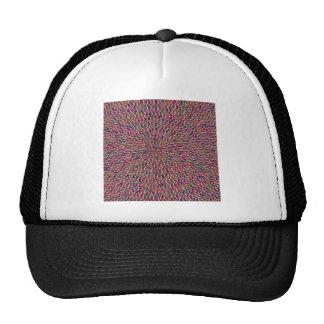 TEMPLATE DIY Artistic Pattern Add Greeting Txt Img Trucker Hat