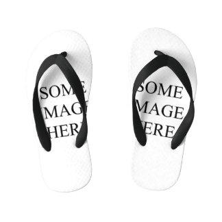 template kid's flip flops
