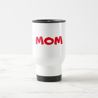 TEMPLATE MOM mother U can change color font style 15 Oz Stainless Steel Travel Mug
