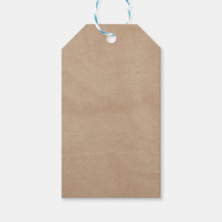 Template - Paper Bag Background Gift Tags
