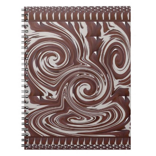 TEMPLATE Reseller Customer CHOCOLATE MONSTER Note Books