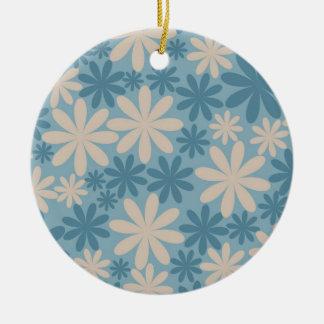 Template Round Ceramic Ornament