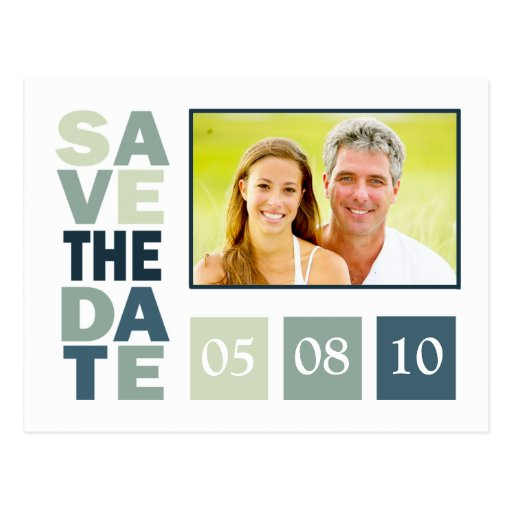Template Save The Date Postcards