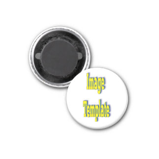 Template Special Create Your Own 1 Inch Round Magnet