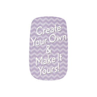Template to Create Your Own Minx Nail Art