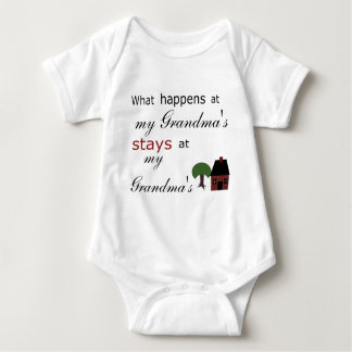 Template: What Happens at ...Stays at.... Baby Bodysuit