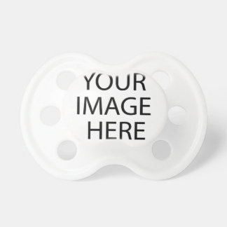 Templates for Sale DIY add PHOTO IMAGE TEXT Pacifier