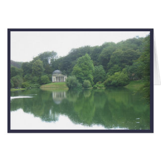 Temple at Stourhead, Wiltshire Card