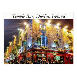 Temple Bar, Dublin, Ireland Postcard