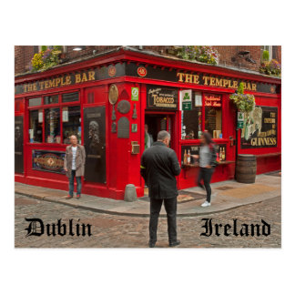 Temple Bar in Dublin, Ireland Postcard