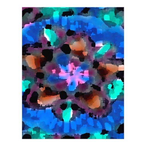 TEMPLE Church Wall Art Flower Pattern TEMPLATE FUN Letterhead