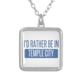 Temple City Silver Plated Necklace