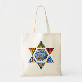 Temple Emanuel Star of David Tote Bag