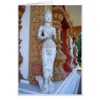 Temple Figures Card