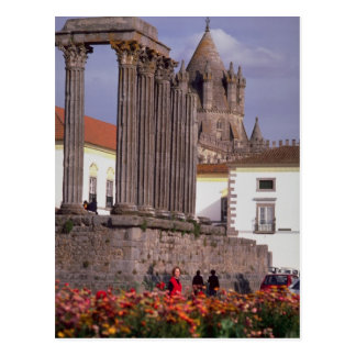 Temple from Diana, Evora, Portugal Postcard