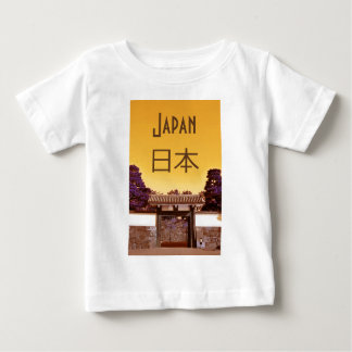 Temple gate in Tokyo, Japan Baby T-Shirt