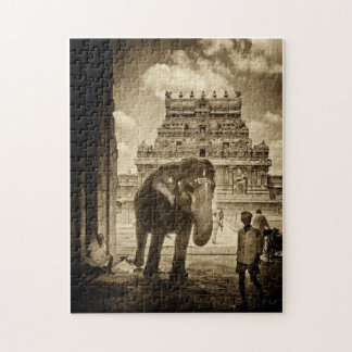 Temple Greetings Jigsaw Puzzle