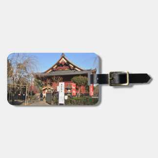 Temple in Tokyo, Japan Bag Tag