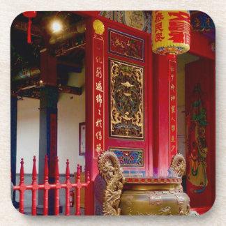 Temple in Yilan, Taiwan Coaster