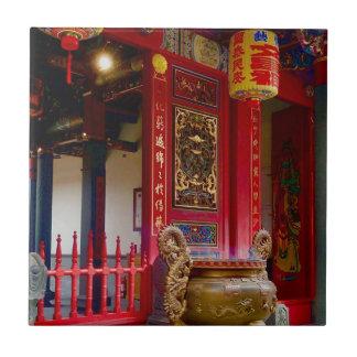 Temple in Yilan, Taiwan Tile