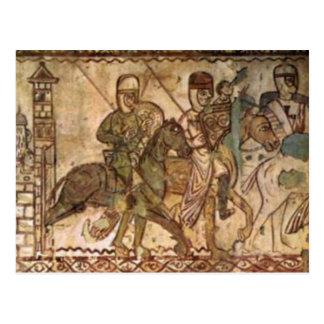 Temple knight postcard