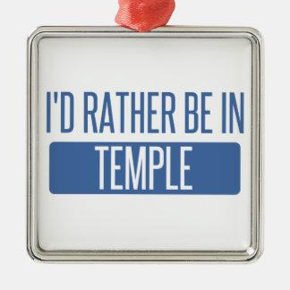 Temple Metal Ornament