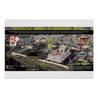 Temple Mount - Celestial Domes Poster