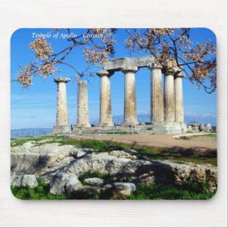 Temple of Apollo – Corinth Mouse Pad