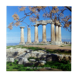 Temple of Apollo – Corinth Tile