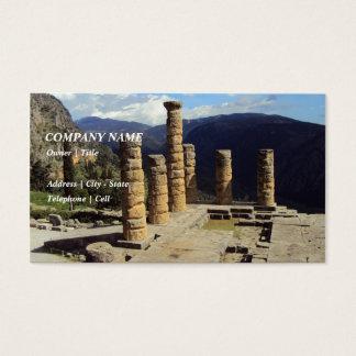 Temple of Apollo – Delphi Business Card