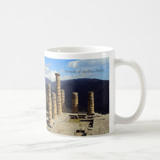 Temple of Apollo - Delphi Coffee Mug