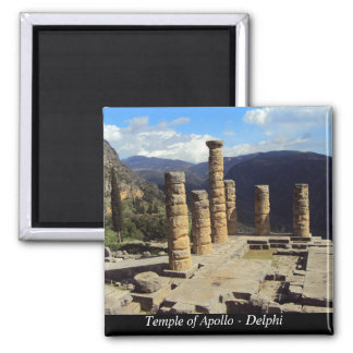 Temple of Apollo – Delphi Magnet