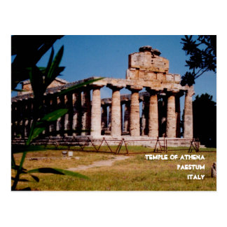 Temple of Athena Postcard