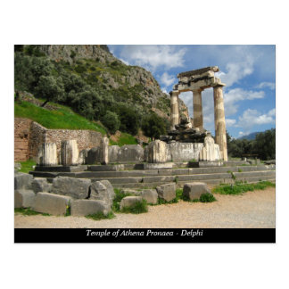 Temple of Athena Pronaea - Delphi Postcard