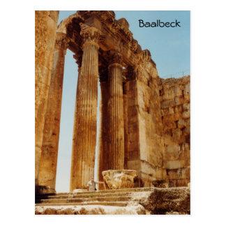 Temple of Bacchus Postcard