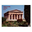 Temple of Hera Postcard