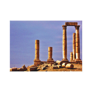 Temple of Hercules Canvas Print