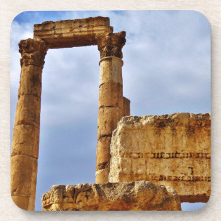 Temple of Hercules Columns Beverage Coaster