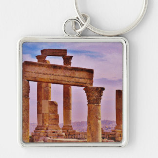 Temple of Hercules Keychain