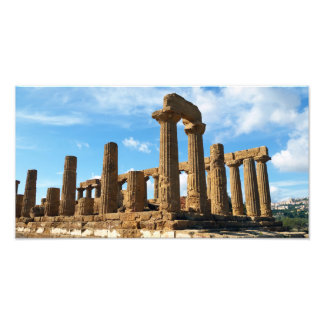 Temple of Juno, Valley of the Temples, Agrigento Photo Print