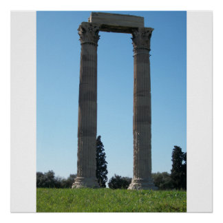 Temple of Olympian Zeus (Athens)-Gate Poster