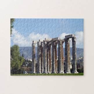 Temple of Olympian Zeus Jigsaw Puzzle