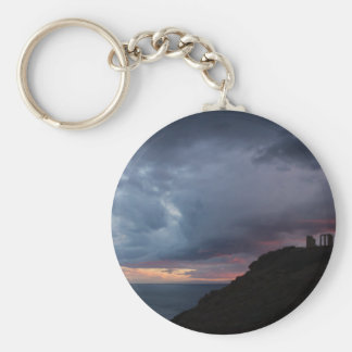 Temple of Poseidon Keychain