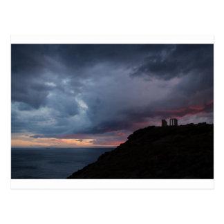 Temple of Poseidon Postcard