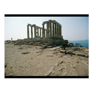 Temple of Poseidon Ruins Postcard