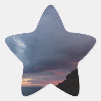 Temple of Poseidon Star Sticker