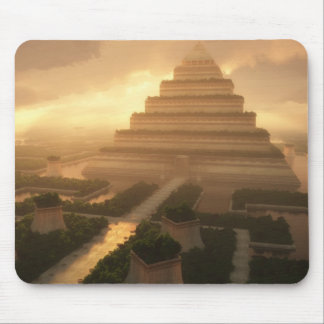 Temple of the Leaf Mousepad