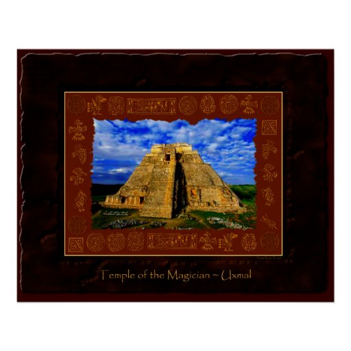 Temple of the Magician Fine Art Print