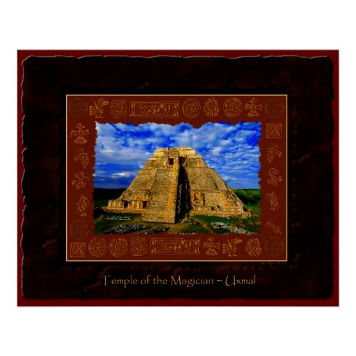 """Temple of the Magician"" Fine Art Print"