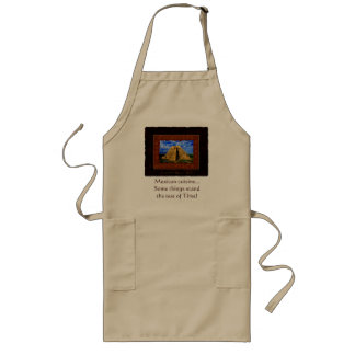 """Temple of the Magician"" Gift item Long Apron"